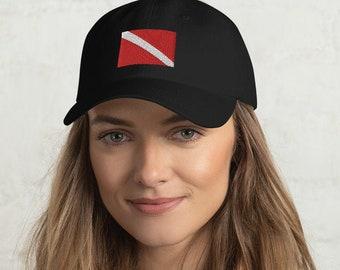 Custom Snapback Hats for Men /& Women Scuba Diving Flag Lobster Embroidery Cotton