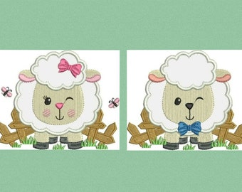 17c8a0e253be1b Sheep embroidery design Lamb embroidery designs machine embroidery pattern  baby embroidery file newborn embroidery sheep applique design
