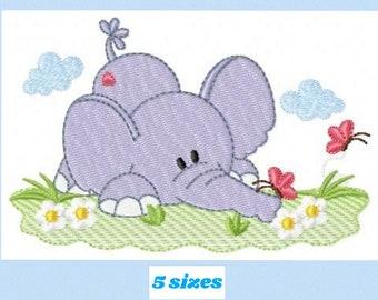 Peter Rabbit Machine Embroidery Designs 3 sizes JEF // Janome Format 34 Designs