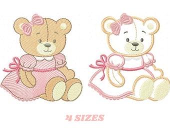 Teddy Bear Applique Etsy