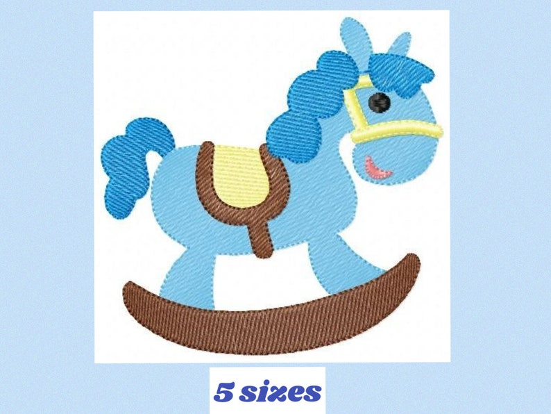 Toy Horse embroidery design Boy embroidery designs machine embroidery  pattern Baby embroidery file toy design horse design
