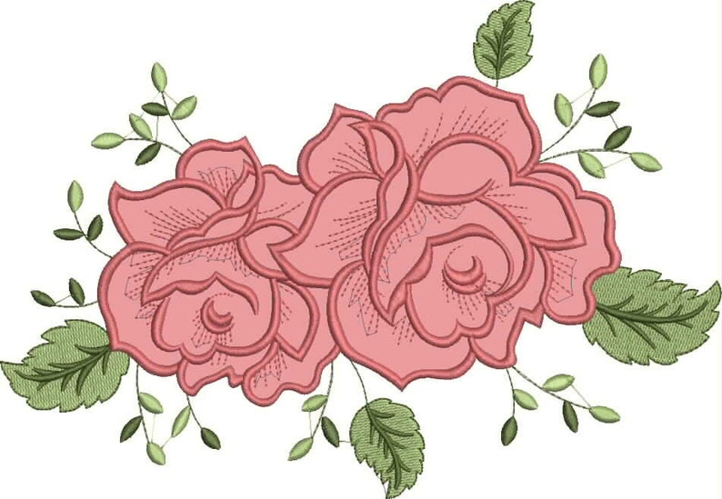 Flowers embroidery designs flower embroidery design machine etsy