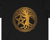 Tree Of Life and Pentacle T-Shirt