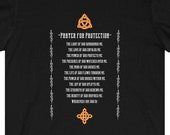 Prayer For Protection T-Shirt Wicca Witch Warlock Pagan