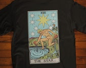 The Star Tarot Card Shirt, Psychic Shirt, Witch Shirt, Tarot Card Shirt, Unisex Graphic Tee