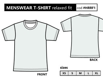 graphic regarding T Shirt Pattern Printable referred to as T blouse practice Etsy