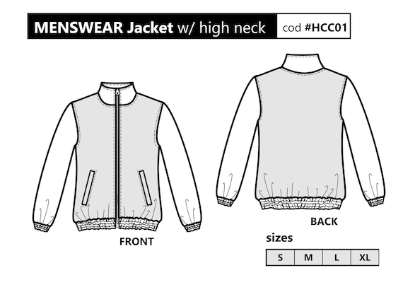 It's just a picture of Smart Printable Jacket