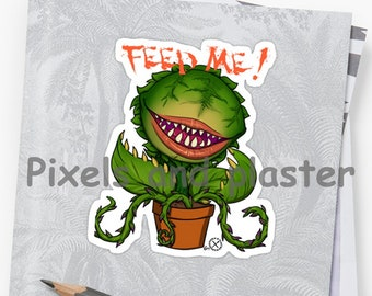 BIG Audrey II  Little shop of Horrors Stickers