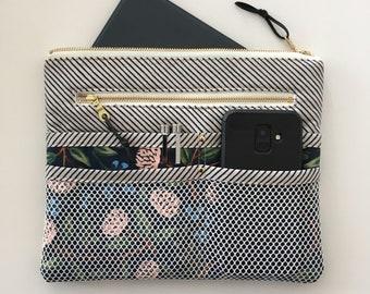 Purse Organizer, PDF sewing pattern, instant download, zipper pouch, bag, tidy, sewing, clutch, pockets, sew, pattern, sotak patterns