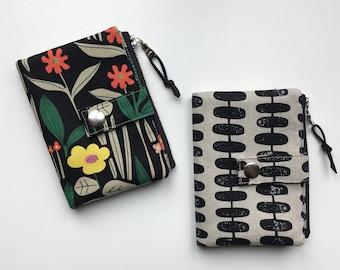 Essex Wallet, PDF sewing pattern, instant download, zipper wallet, pouch, sewing, coin pocket, pattern, sotak patterns