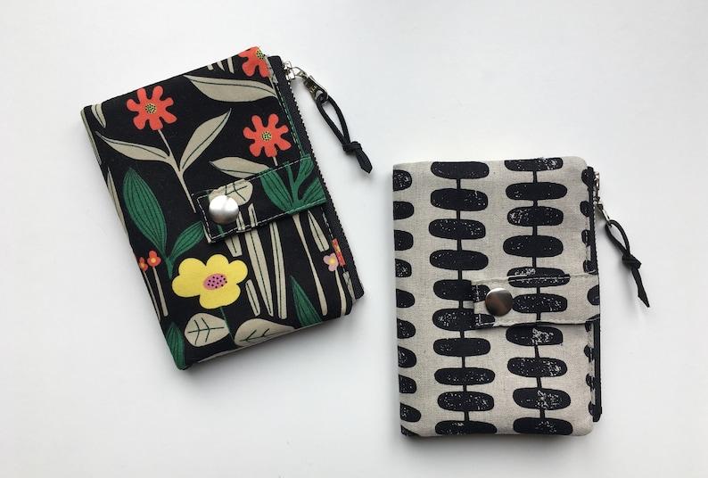 Essex Wallet PDF sewing pattern instant download zipper image 0
