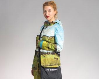 Code: Rain - Samso shire printed raincoat