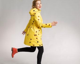 Cherries rainjacket