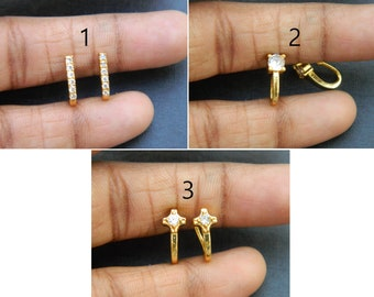 Designer fashion jewelry Gift For Woman Nose Bali Beautiful Bridal Charm Sale Body Jewelry fake pierce Indian Nose ring