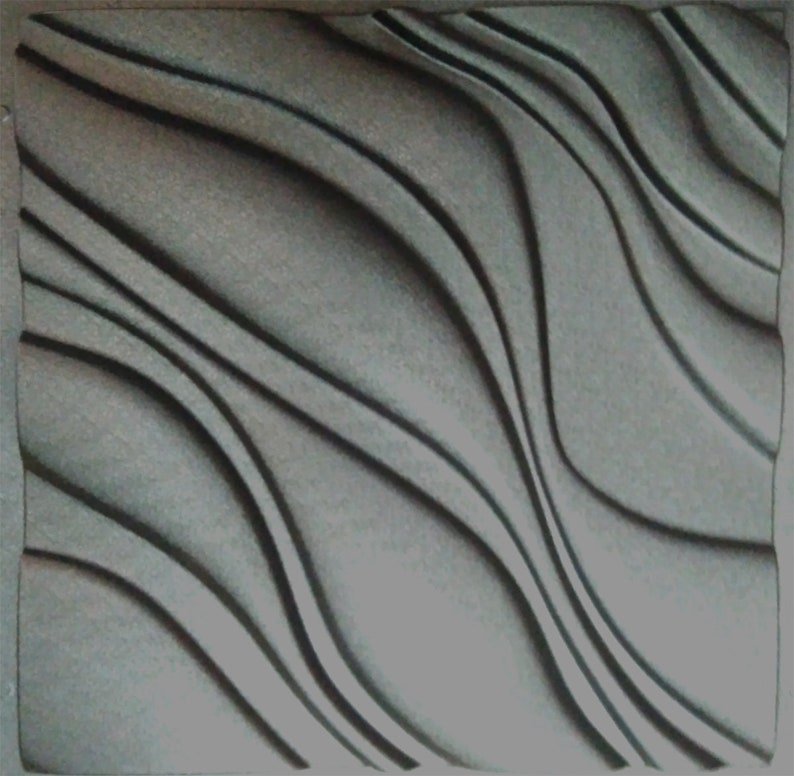 Comfort - ABS Plastic mold 3D Panel, for making from plaster (gypsum) or  concrete - decor wall panels