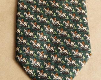 M106-T85 Mens Ties Men Neckties Neck Thick Wide Normal Wedding Classic Animal Designs Novelty Men/'s Tie 8.5CM Navy Blue Race Horse Necktie