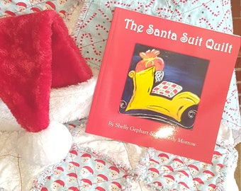 783cbc18a Official Santa Suit Quilts (SSQ) made by Santa's Elf Peppermint Paula