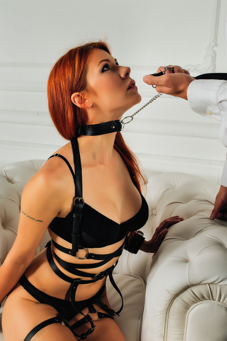 Bdsm Collarsubmissive Collarsub Collarsexy Leashsex  Etsy-6360