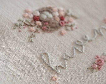 """Embroidery Kit - """"HAVEN"""" Cover Art Kit"""
