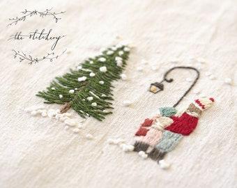 Embroidery Kit - Christmas Carol Singers