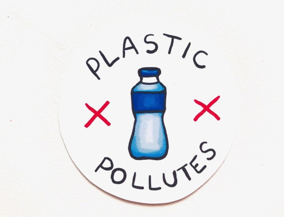 """There Is No Planet B Recycle Plastic Bottle Earth 4/"""" Custom Vinyl Decal Sticker"""