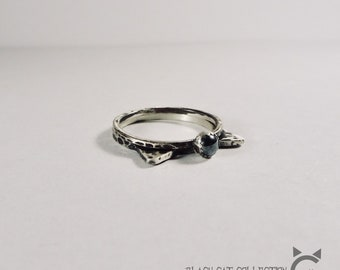 'Black Cat Collection', Ring set of 2 👐