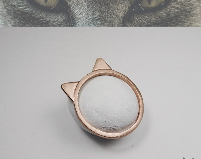Rose Gold, AdvoCATe Original, Cat Ring🐱