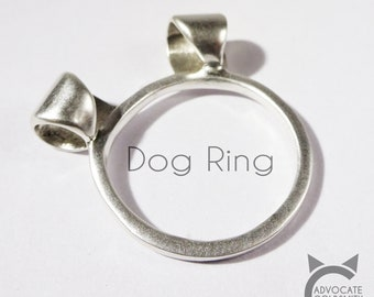 Sterling Silver, AdvoCATe Original, Dog Ring