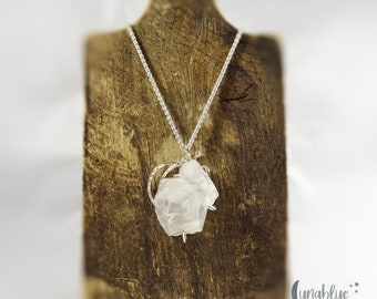 Tumbled stone necklace