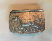 Antique Sterling Silver English Snuff Box