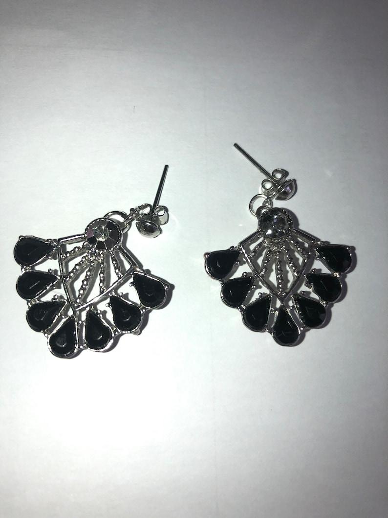 Art Deco Stud Earrings