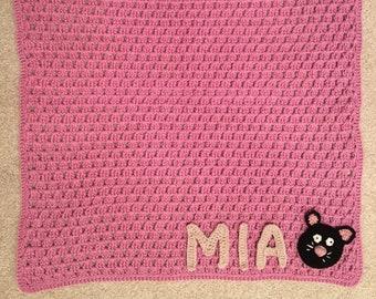 Personalized Crochet Baby Blanket Etsy