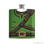 nerdy flask Game Gifts Wedding Gift Zelda Flask Link Cosplay Birthday Party for Him Drinking Character Nerdy Boyfriend Groomsmen Favor
