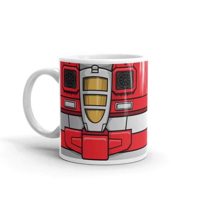 Starscream Mug Gift Transformers Generation Robots Nerdy Mens image 0