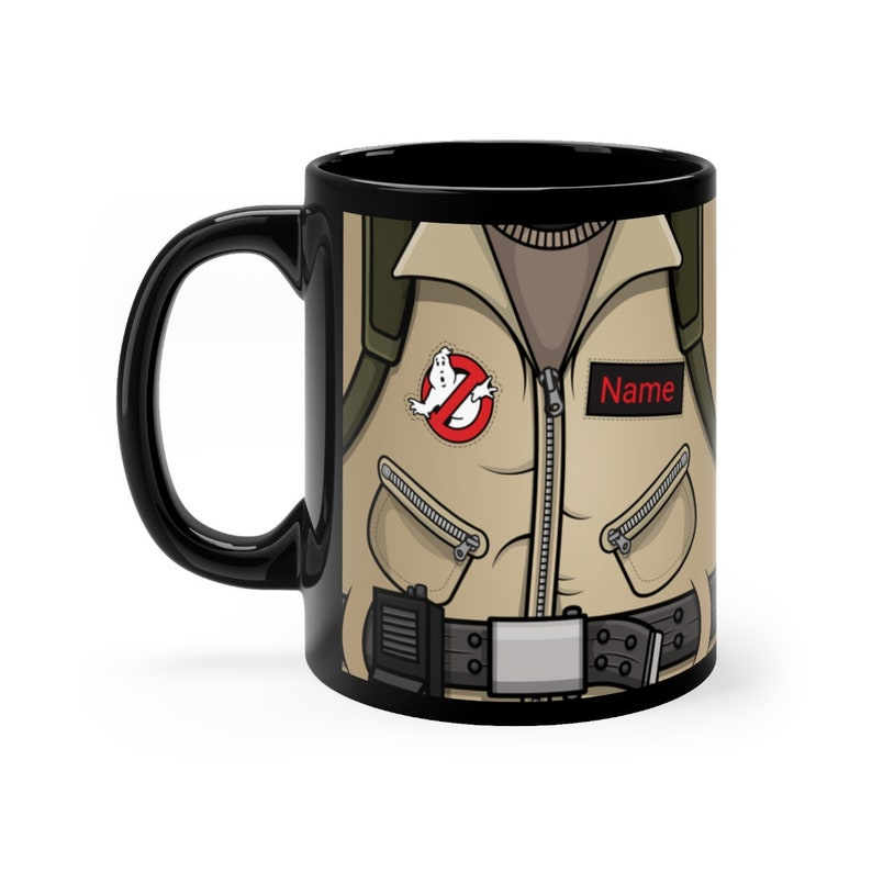 Personalized Ghostbusters Mug Geeky Coffee Lover Gift Nerdy image 0