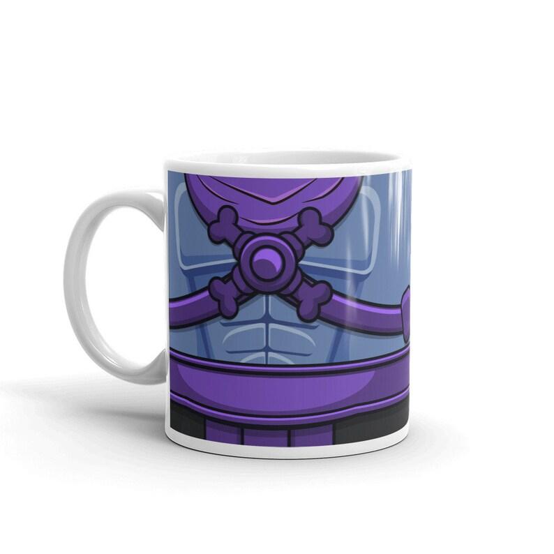 Nerdy Mug Skeletor He-man Gift Nerdy Guy Mens Groomsmen image 0