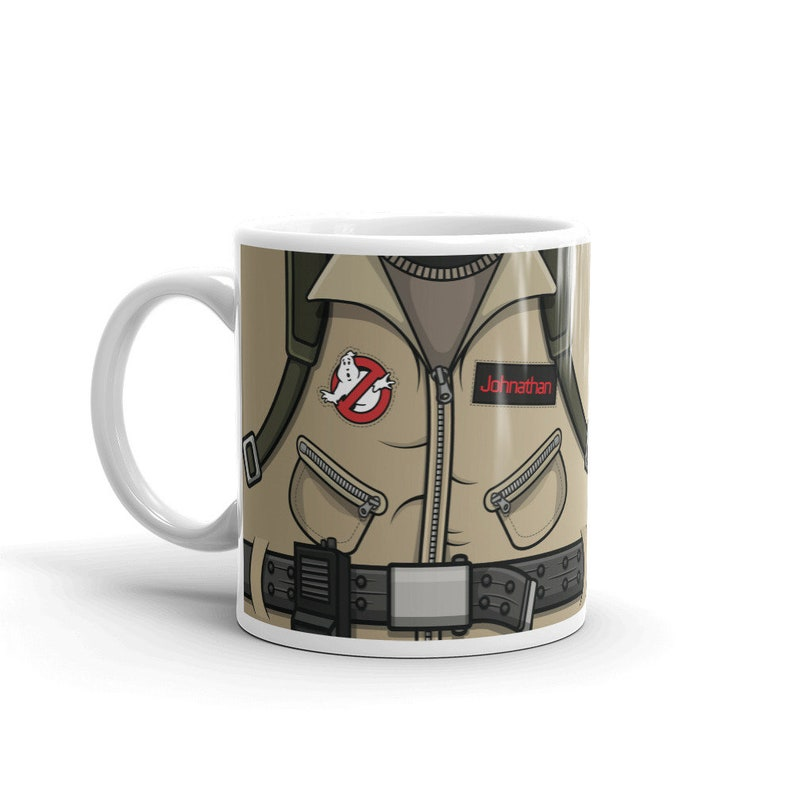 Mug Ghostbusters Nerdy Coffee Geeky Gift for Him Guys Birthday image 0