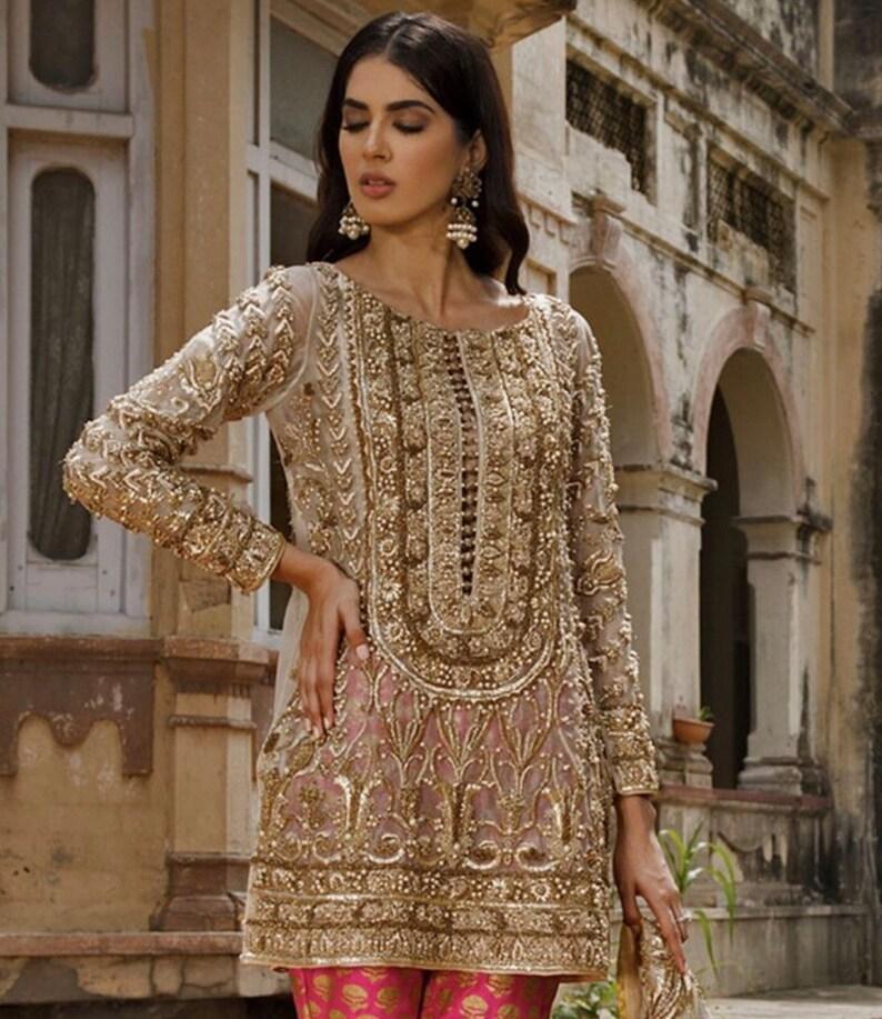 8d36721c8e Bridal Wear Indian Pakistani Cloth Pakistani Party Wear | Etsy