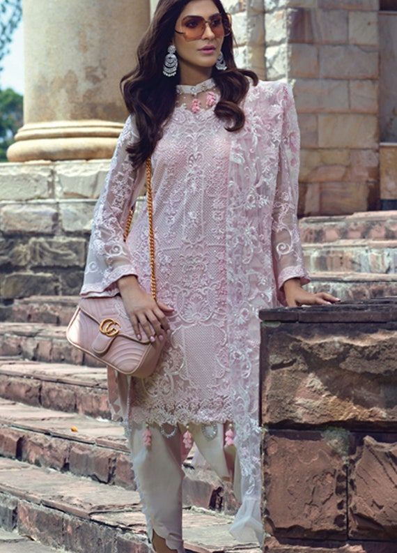 Pakistani RANG RASIYA Collection 2019 Embroidery designer Shalwar Kameez Suit