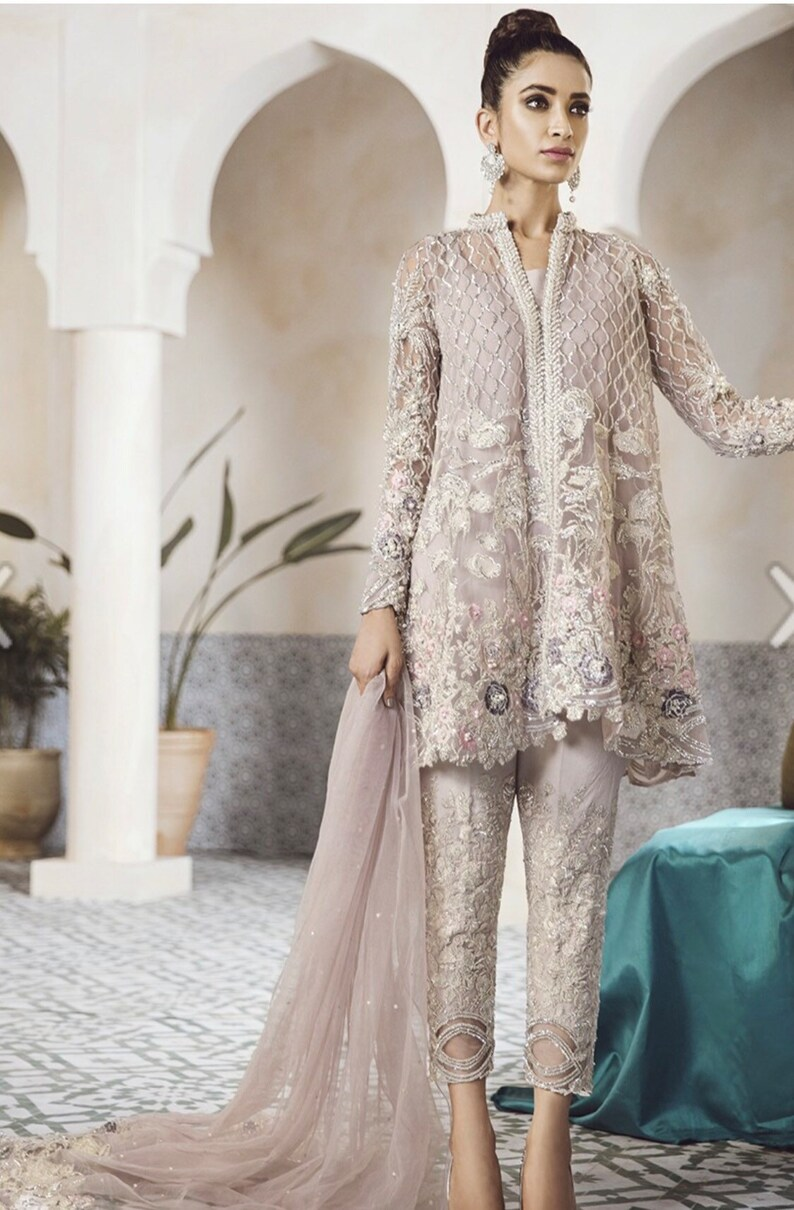 fc1fff5192 Pakistani Designer Modern Salwar Kameez Inspired Republic | Etsy