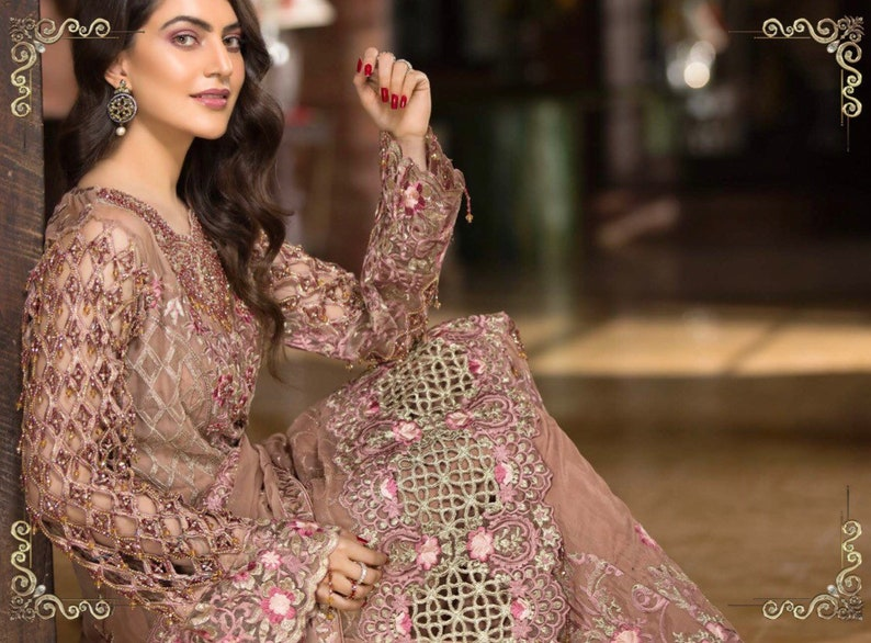 9886c528c4 Original Zebtan Royal Collection Volume Pakistani Designer | Etsy