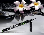 Eyeliner - Natural Eyeliner Liquid Pen with Castor Oil - Black Eyeliner