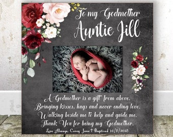 Christmas Gift For Godmother Aunt Birthday Godparents From Godchild
