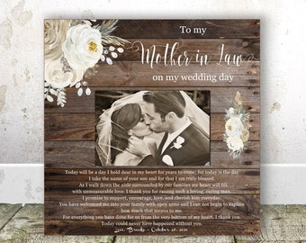Mother in Law Wedding gift from Bride Wedding gift Mother of the Groom gift from Bride Wedding gift for Parents Mother of the groom gift