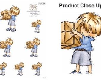 5 Big Present Die Cut Sheets