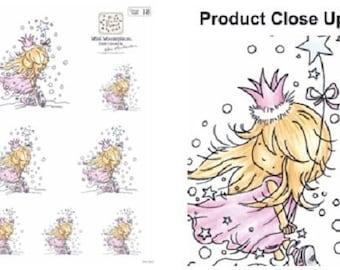 5 Snow Queen Die Cut Sheets