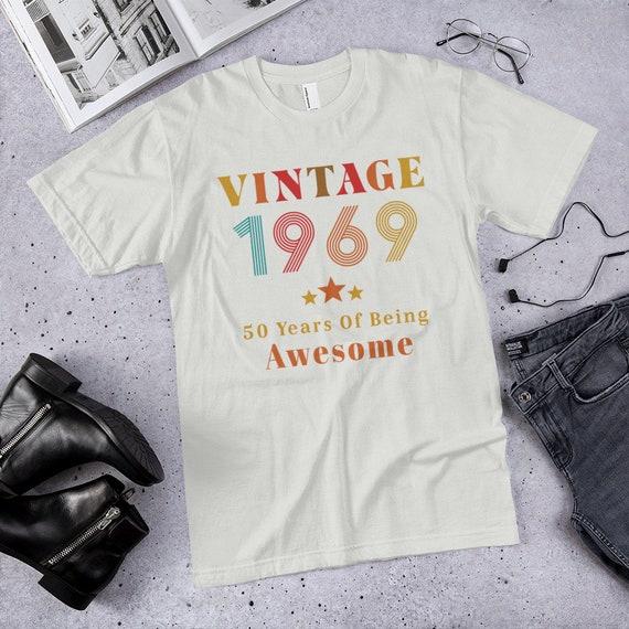 50e génial anniversaire cadeau 1969 Vintage des années 50 d'être génial 50e T-Shirt 574072