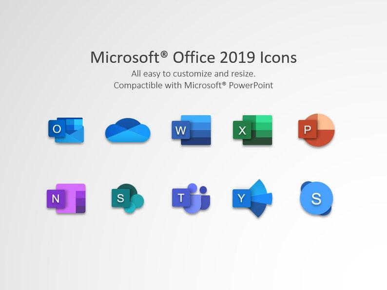 Microsoft New Icons 2019