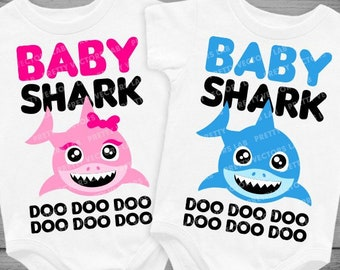 Baby Shark Iron On Etsy