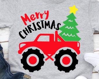 Boy Christmas Svg Etsy